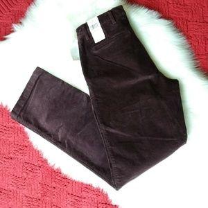 Dockers | Brown Corduroy Straight Fit Pants